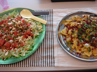 Pittige fruitsalades