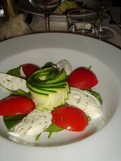 Salade caprese speziale, balsem voor de mond